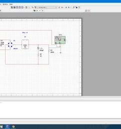 full wave bridge rectifier circuit in multisim [ 1920 x 1080 Pixel ]