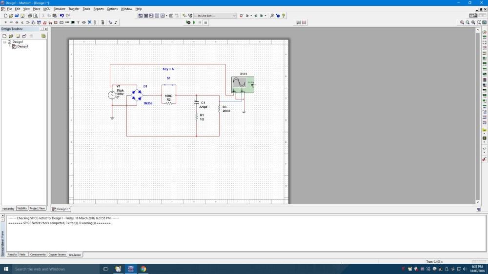 medium resolution of full wave bridge rectifier circuit in multisim