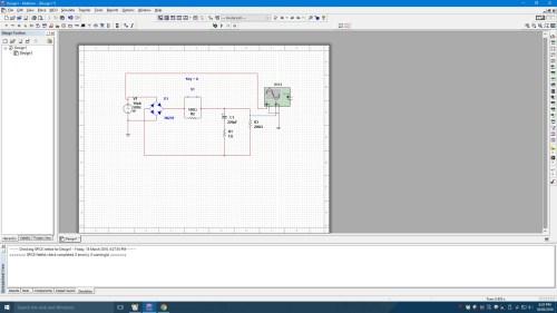 small resolution of full wave bridge rectifier circuit in multisim