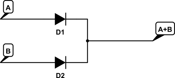 how can and gate be made with diode circuit yahoo answers