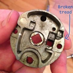 Door Handle Parts Diagram Car Stereo Wiring Jvc Doors - What Is The Name Of This Cast Metal Part Inside My Lockset? Home Improvement Stack ...