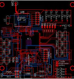 pcb schematic [ 1226 x 1244 Pixel ]