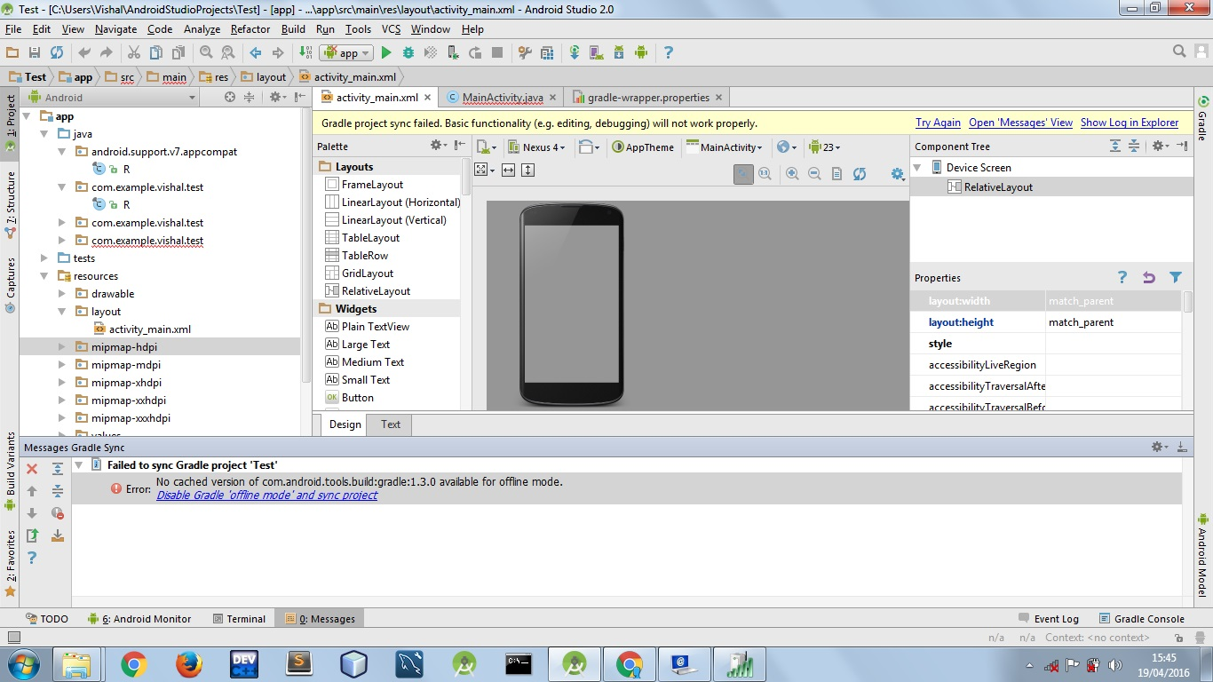 Android Studio Log v Not Working