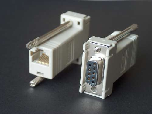 Rs232 To Rj45 Cable Connector Converter Pinout