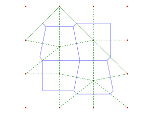 geometry  How to triangulate from a Voronoï diagram