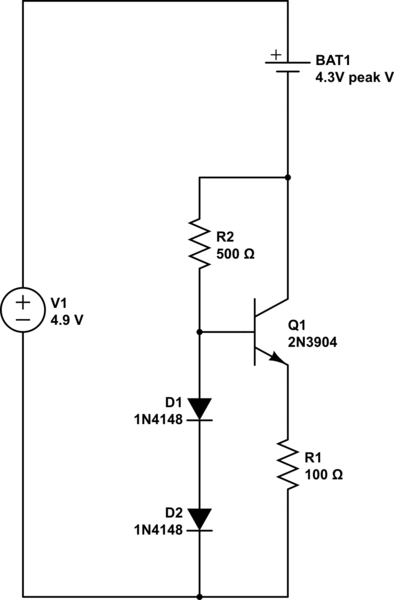 trickle charge circuit