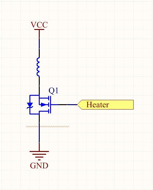 Heater Resistor Symbol