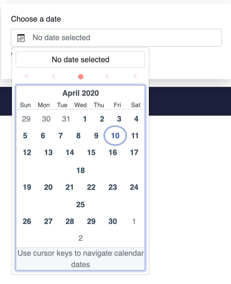 javascript - Bootstrap-Vue Form Datepicker's dropdown calendar misshaped issue - Stack Overflow