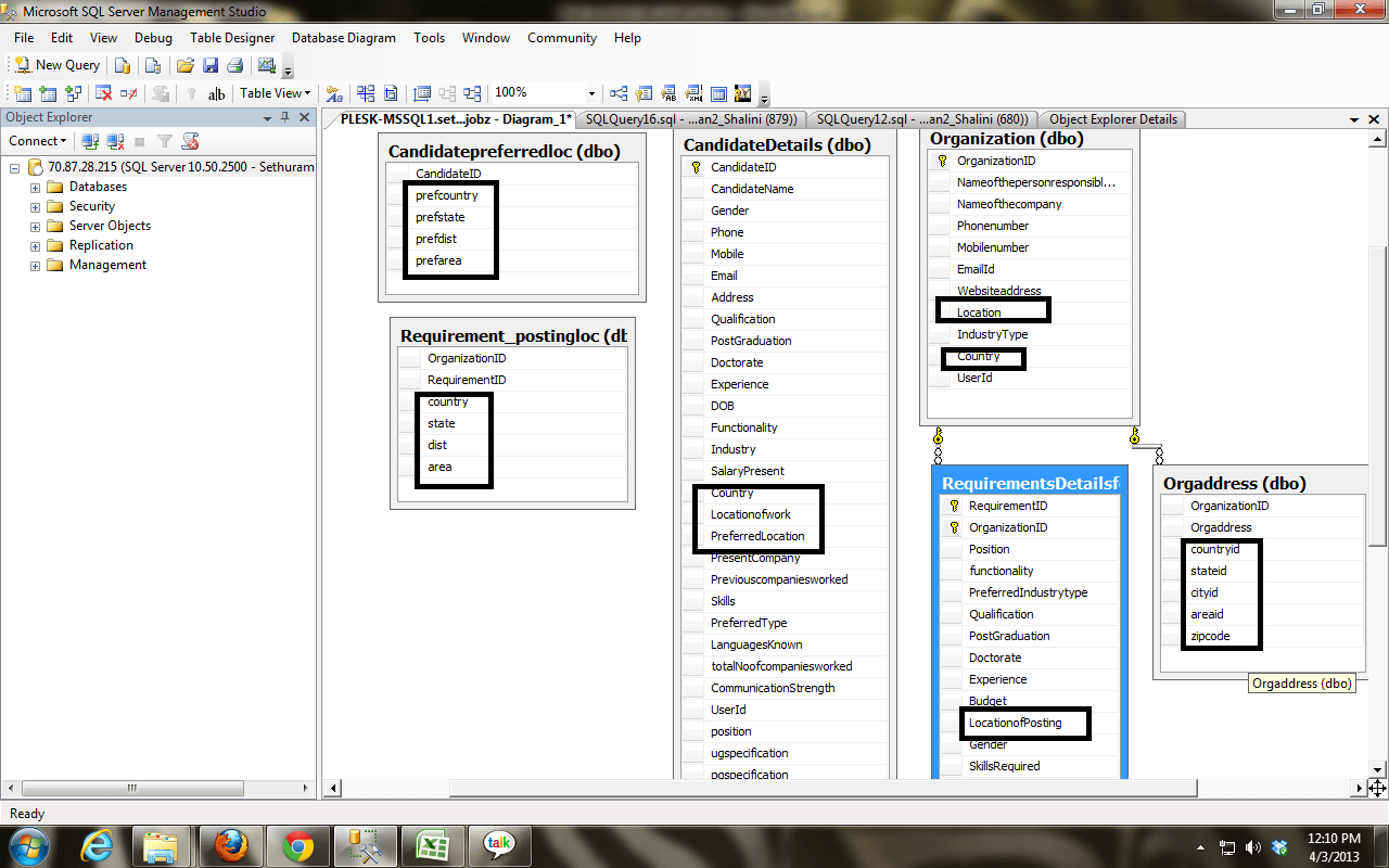 you can create a database diagram for john deere ignition switch image in sql server stack