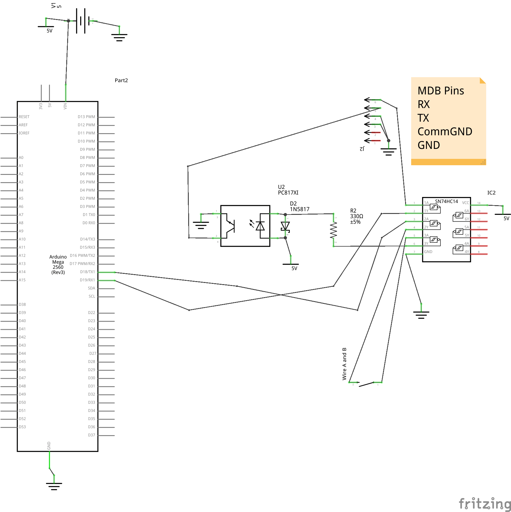 Arduino Mega Mechanical Drawing