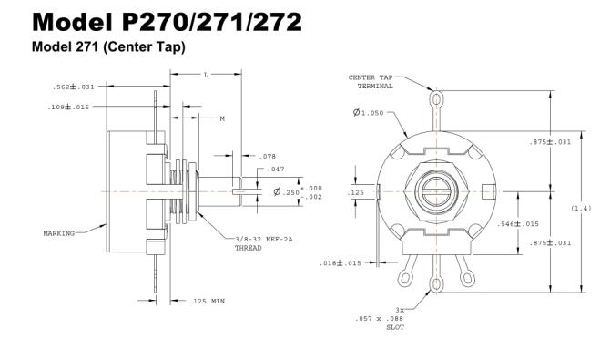 4 pin potentiometer identification  electrical engineering