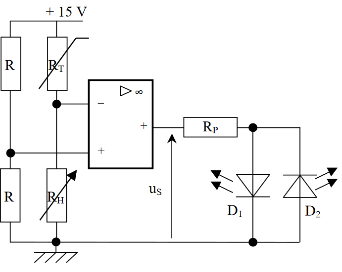 engineering terms operational amplifier window comparator circuits
