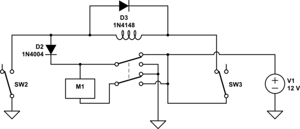 forward and reverse motor circuit