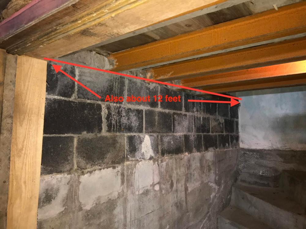 medium resolution of from doorway to garage wall