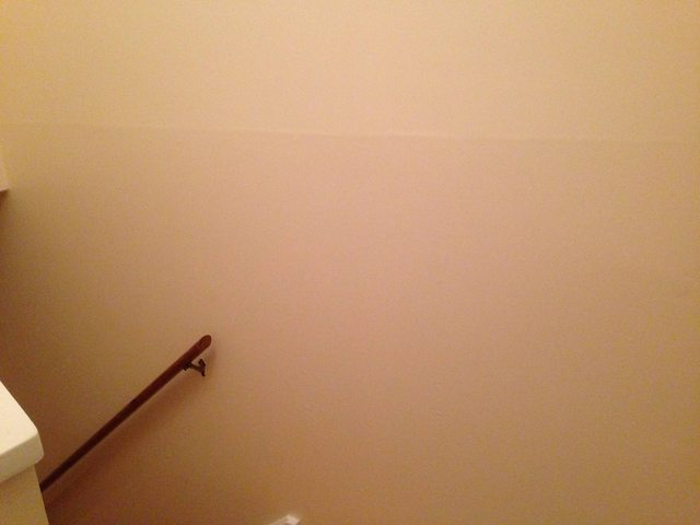 How can I smooth out a poor drywall repair  Home