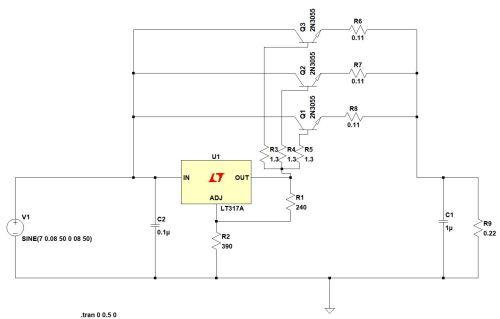 small resolution of  enter image description here i have chosen three npn transistors
