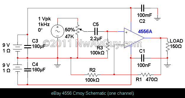 Discrete Virtual Ground Circuit