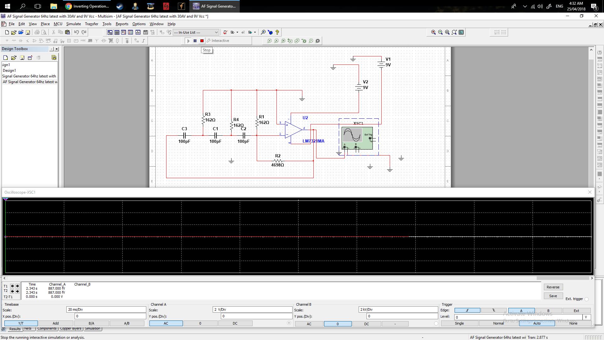Rc Circuit Design