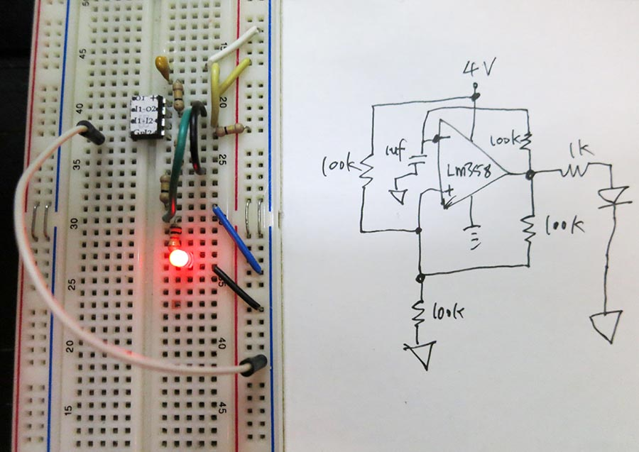 Led Blinking Circuit Work Electrical Engineering Stack Exchange