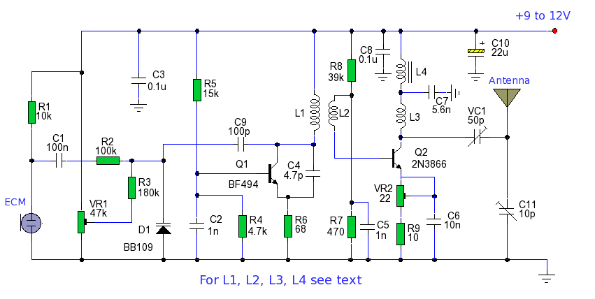 10 watt led driver circuit diagram simplex duct detector wiring communication - fm transmitter and transmission electrical engineering stack exchange