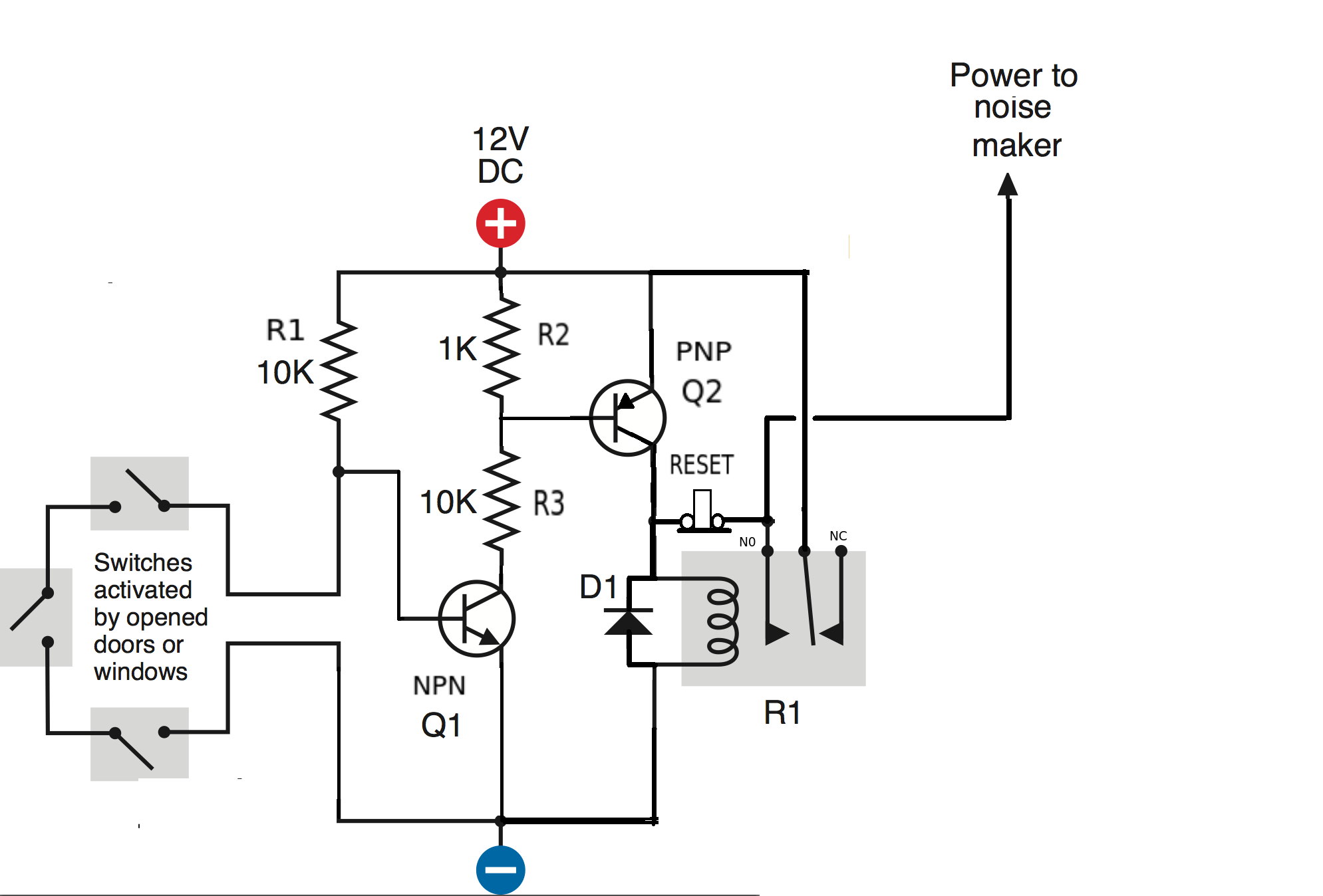 time delay relay circuit diagram fan light wiring timer get free image about