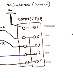 three wire connection diagram wiring diagram expert trailer connector wire diagram capacitor how to connect this [ 3189 x 1234 Pixel ]