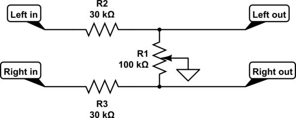 audio potentiometer wiring diagram