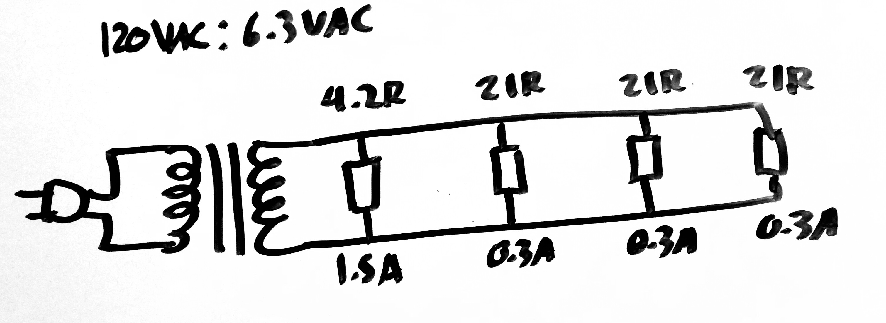 Why Does DC Load Draw Twice As Much AC Current Through