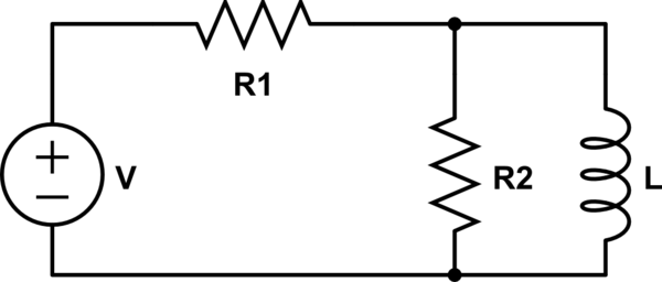 Voltage Across Parallel Inductor