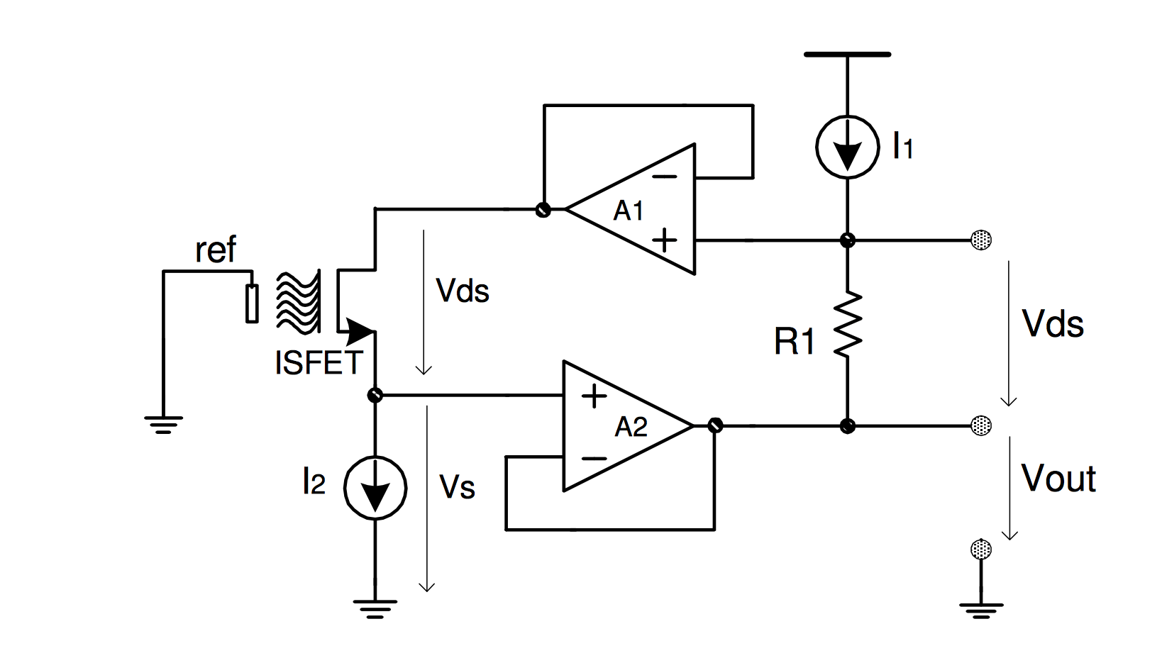 electronics circuit application lm334 using voltage reference