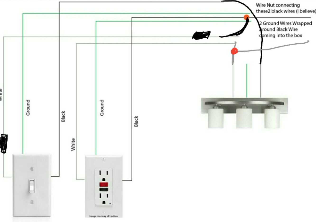 hight resolution of single gfci fixture wiring diagram wiring diagrams sapp gfci light wiring diagram