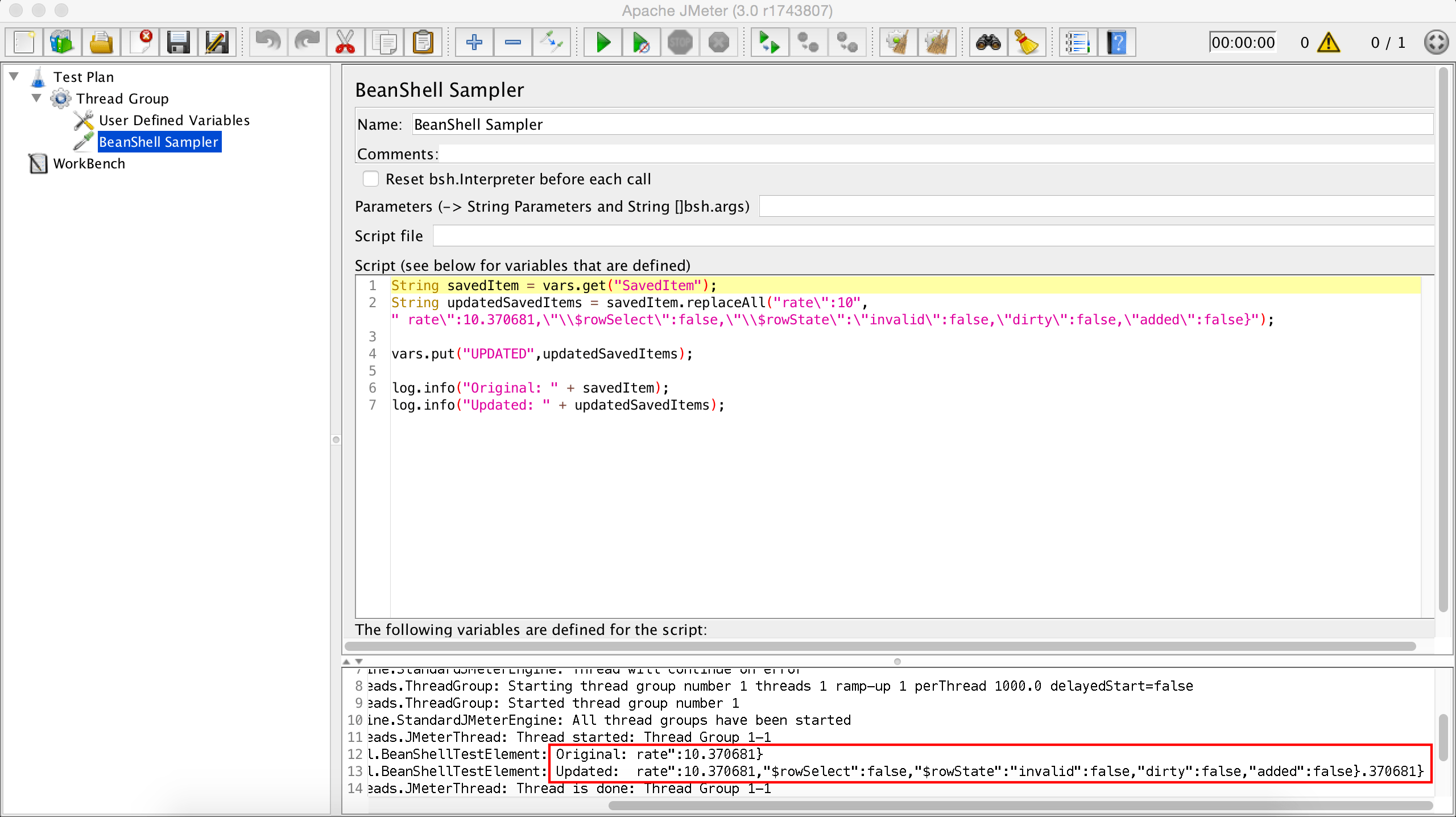 regex - how to replace strings in json response and send it jmeter - Stack Overflow