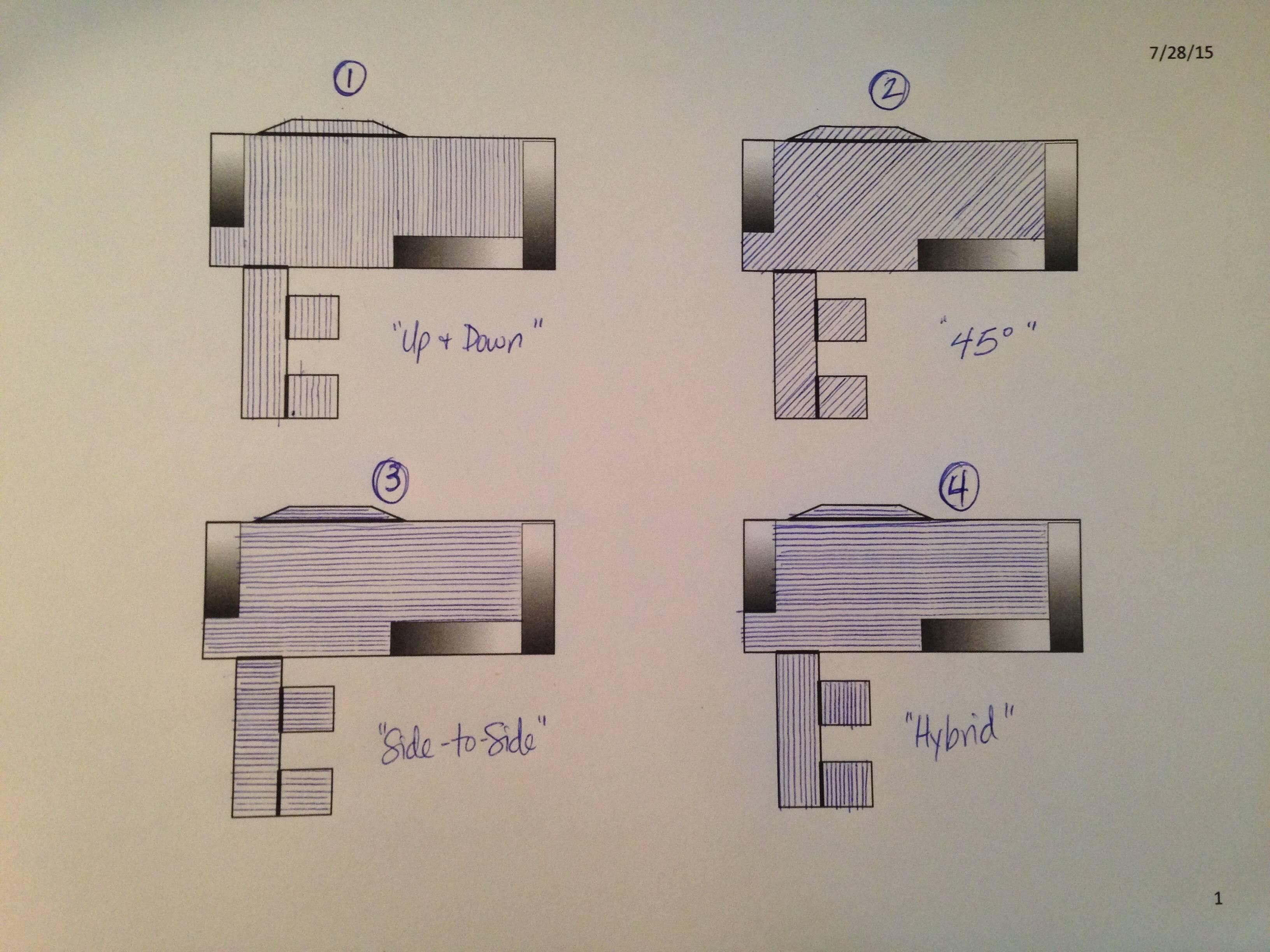 flooring  New Hardwood Floor Layout  Home Improvement