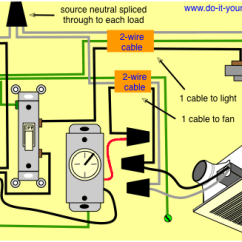 Bath Fan Light Wiring Diagram Motor Contactor Your Bathroom Great Installation Of Switch How Can I Wire My And Home Rh Diy Stackexchange Com Typical Example