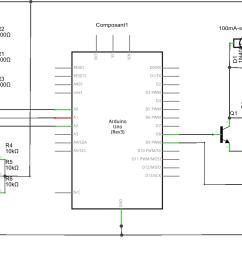 schematic line following robot [ 1758 x 837 Pixel ]