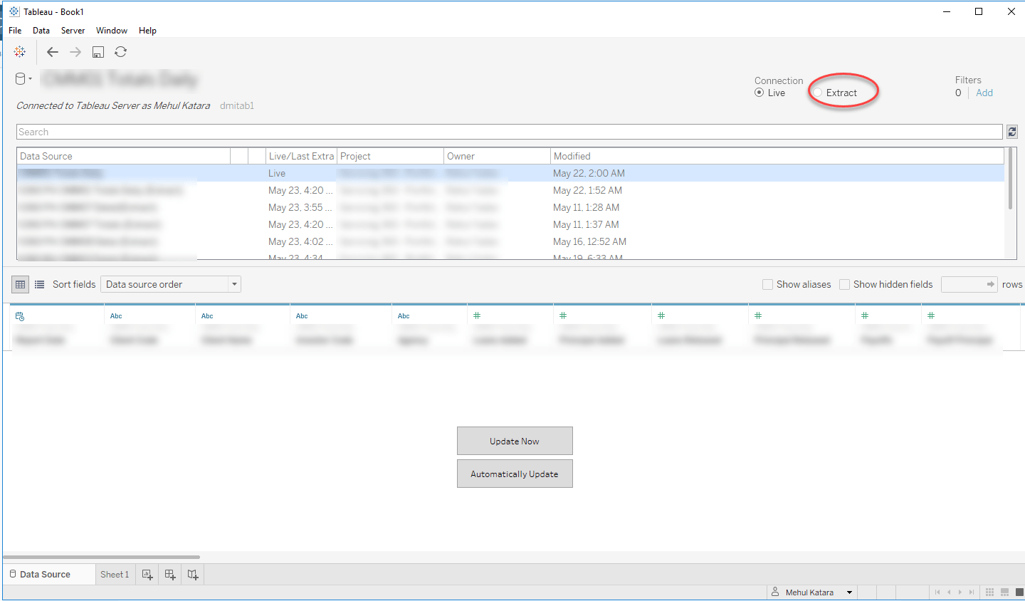 Downloading Tableau Workbook From Tableau Server With Data