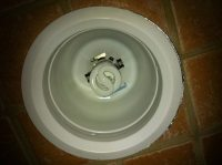 lighting - What recessed shower light cover is this ...
