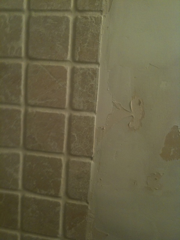 how to put chair rail molding earthlite avila ii massage or tile cap in bathroom? - home improvement stack exchange