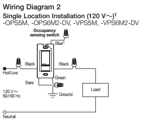 electrical  Is it possible to install an occupancy sensor