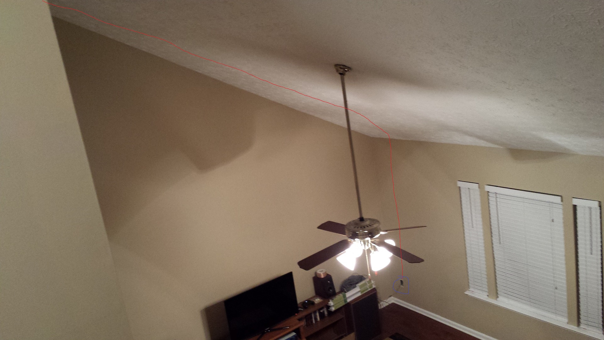 hight resolution of  living room with phone cable route