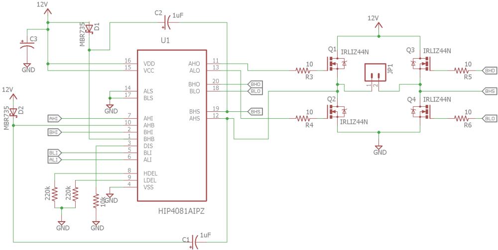 medium resolution of  h bridge driver