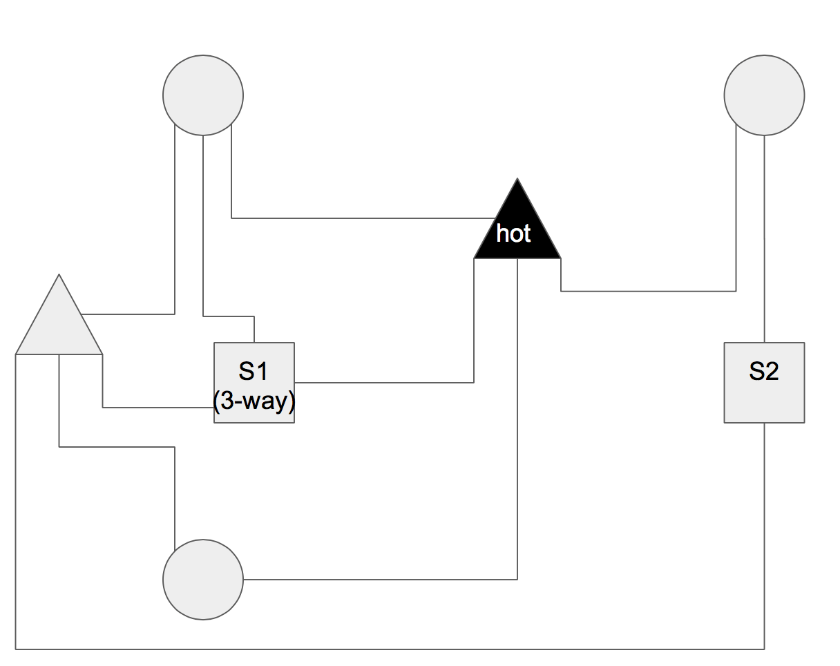 Dead End 3 Way Wiring Diagram Gfci Wiring Diagrams