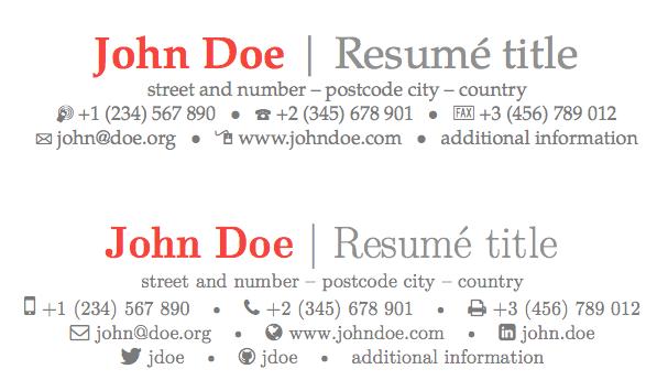 modern resume from linkedin