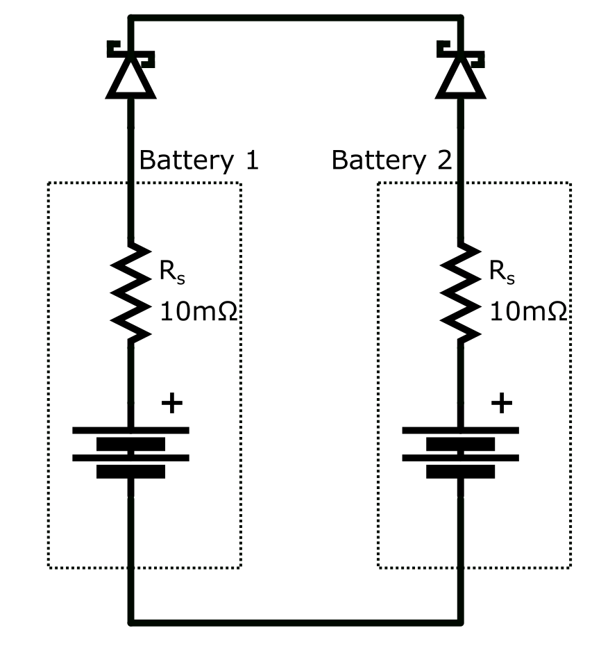 to battery discharge circuit electrical engineering stack exchange