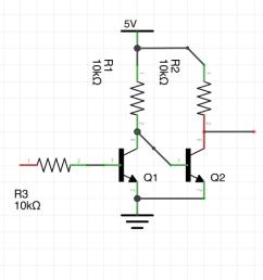 npn transistor level shifter [ 1224 x 910 Pixel ]