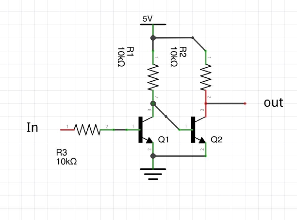 medium resolution of npn transistor level shifter