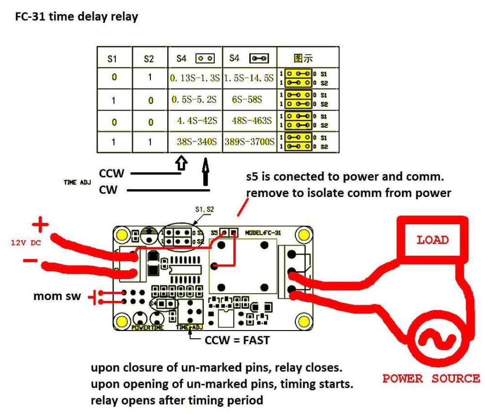 medium resolution of timer how to wire this delay relay switch electrical engineering dayton timer relay wiring diagram please