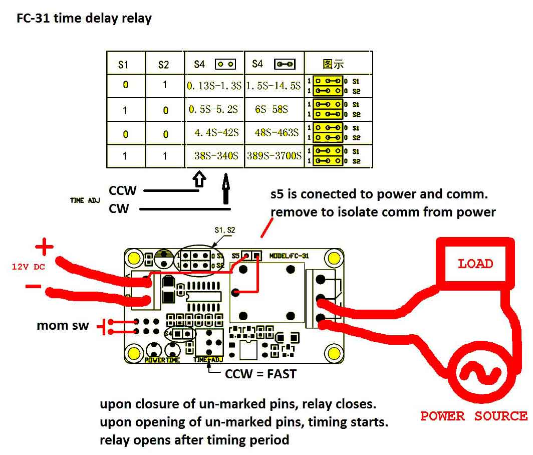 hight resolution of timer how to wire this delay relay switch electrical engineering dayton timer relay wiring diagram please