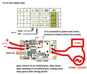 timer  How to wire this delay relay switch  Electrical