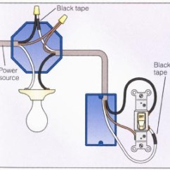 Wiring Diagram Outlet To Switch Light 2000 Hyundai Elantra Radio How Do I Wire A Switched With The Downstream Loop